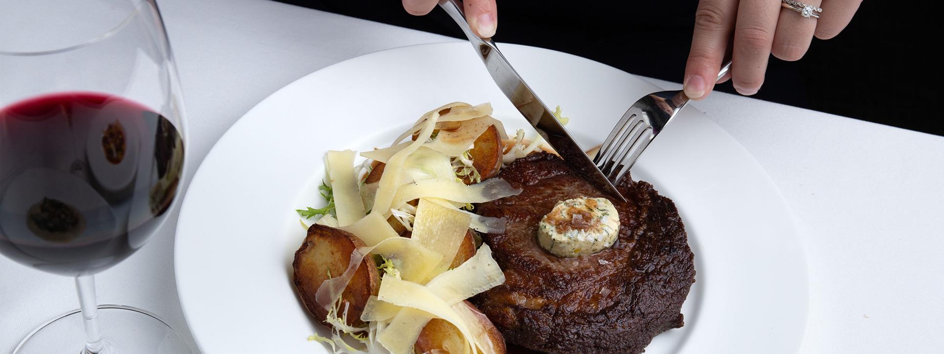 Steak - The Courtney Room - Victoria Restaurants