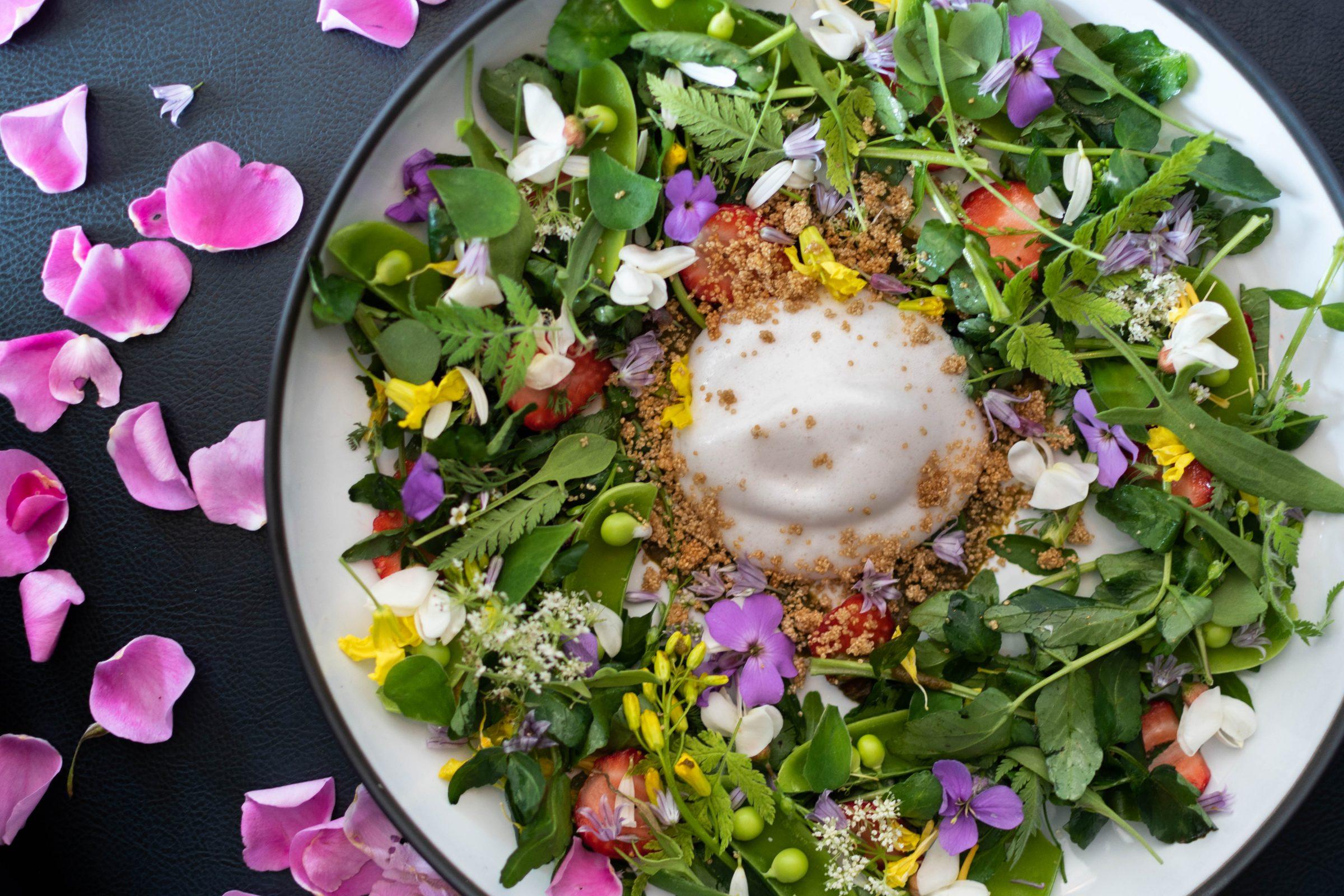 Spring Salad - The Courtney Room - Victoria Restaurants